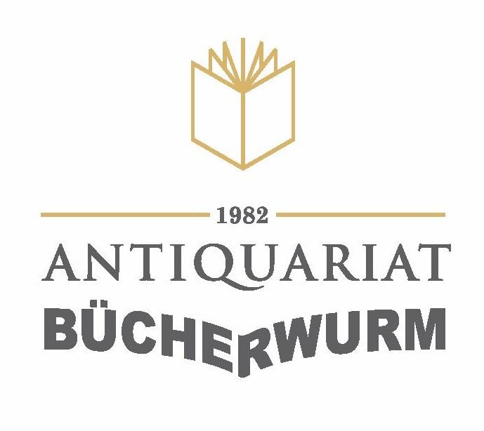 Antiquariat Bücherwurm-Logo